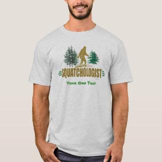 Camiseta Sasquatching engraçado, caçador de Sasquatch