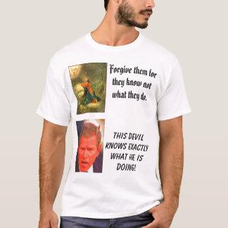 Camiseta SATÃ, cristo no jardim de Gethsemane, este…