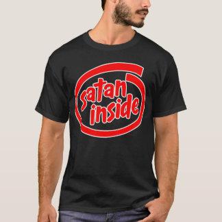 Camiseta Satã dentro do vermelho