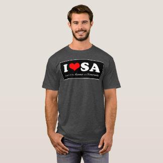 Camiseta SATX POR VIDA eu amo San Antonio