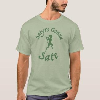 Camiseta Satyrs que vão Sate