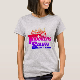 Camiseta Saudação dos camionistas