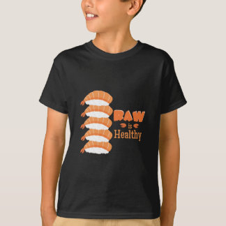 Camiseta Saudável cru