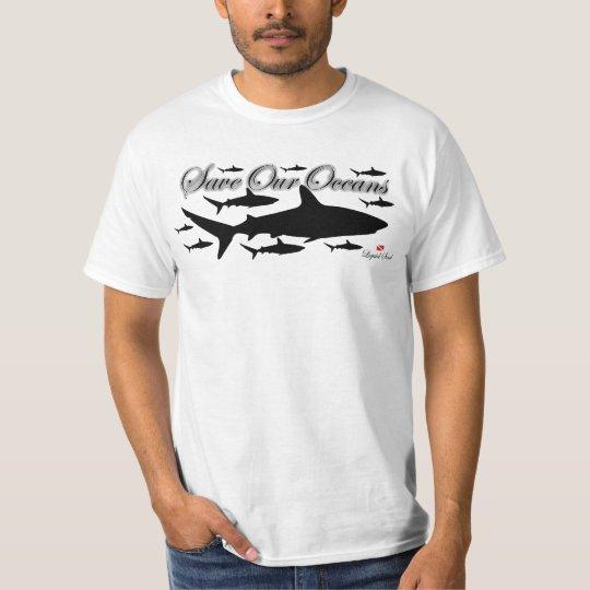 Camiseta - Save Our Oceans - Tubarão de Recife