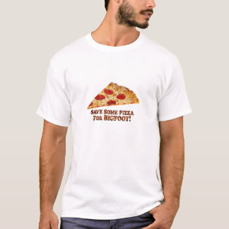 Camiseta Save_Pizza_for BIGFOOT - Multi-Roupa