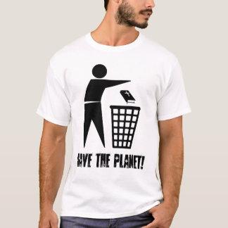 Camiseta Save the Planet! (Clara)
