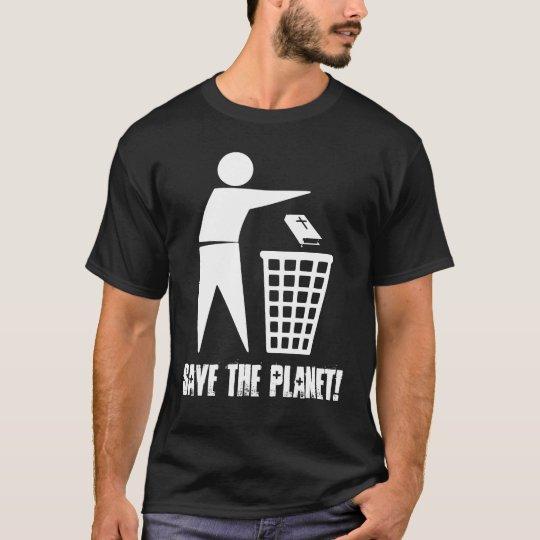 Camiseta Save the Planet! (Escura)