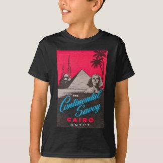 Camiseta Savoy continental o Cairo Egipto