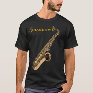 Camiseta SAX TENOR, Saxmusic