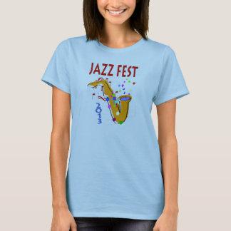 Camiseta SAXOFONE 2013 do Fest do jazz