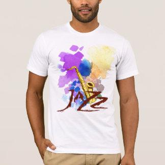 Camiseta Saxofone do jazz