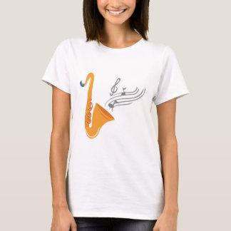 Camiseta Saxofone do saxofone de Saxophon