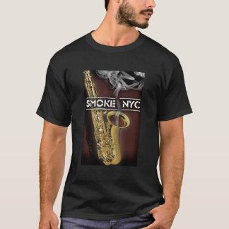 Camiseta Saxofone do Smokin dos homens