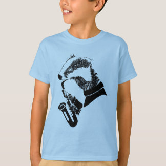 Camiseta Saxofone do texugo