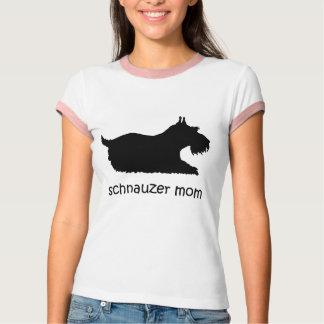 Camiseta Schnauzer bonito