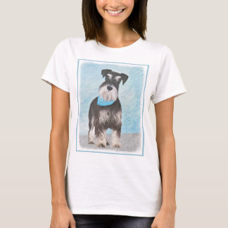 Camiseta Schnauzer (diminuto)