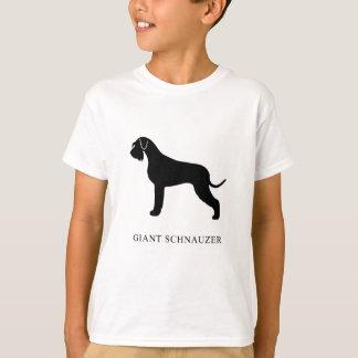 Camiseta Schnauzer gigante