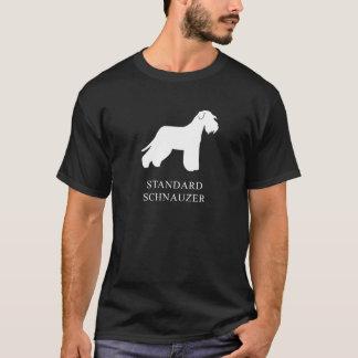 Camiseta Schnauzer padrão