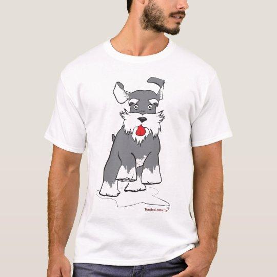 Camiseta Schnauzer running