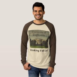 Camiseta Schoolin da casa branca