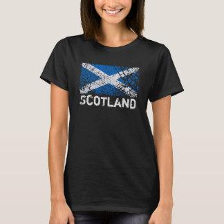 Camiseta Scotland + Bandeira do Scottish do Grunge
