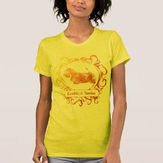 Camiseta Scottish resistido elegante Terrier
