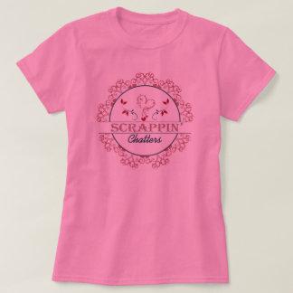 Camiseta Scrappin vibra TShirt cor-de-rosa