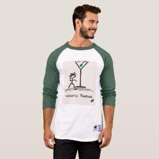 Camiseta Screwballs™ ansioso pensando o t-shirt de Martini
