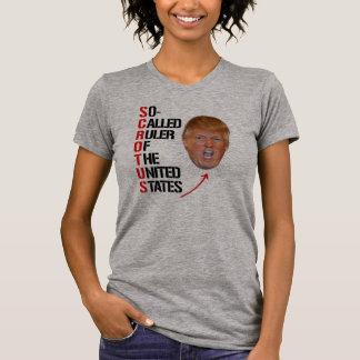 Camiseta SCROTUS - Régua assim chamada dos Estados Unidos