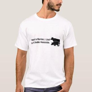 Camiseta Se a carne é assassinato…