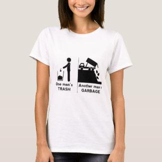 Camiseta Se equipa o lixo
