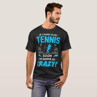 Camiseta Se eu não jogo o tênis logo Gunna vai o Tshirt