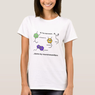 Camiseta Se eu sou nervoso…
