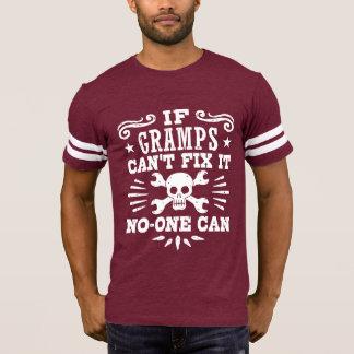 Camiseta Se Gramps não pode o fixar ninguém pode