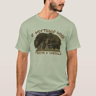 Camiseta Se madeira de Mythago