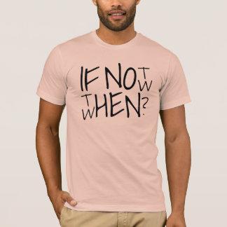 Camiseta Se não agora