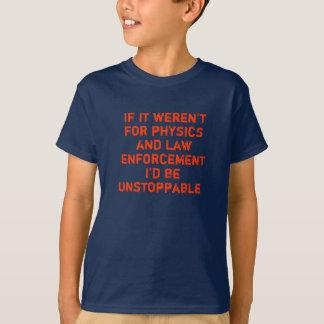 Camiseta Se não era para a física