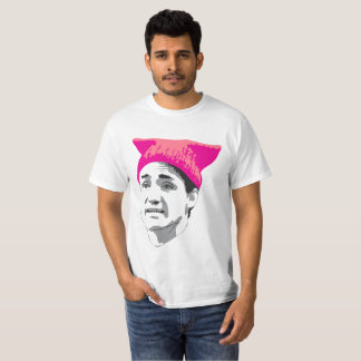 Camiseta Se os ajustados do chapéu o vestem