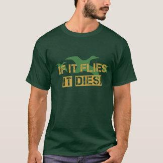 Camiseta Se voa morre!