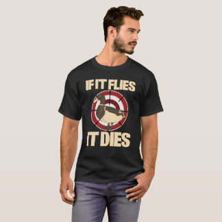 Camiseta Se voa morre t-shirt da caça do pato