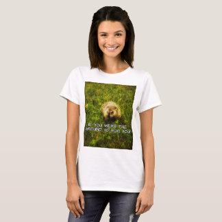 Camiseta Se você era a terra, eu hog o! t-shirt