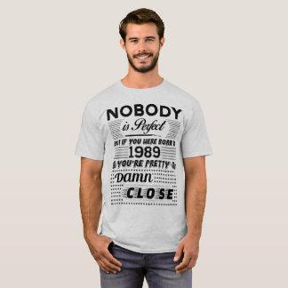 CAMISETA SE VOCÊ ERA NASCIDO EM 1989
