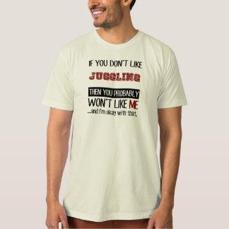 Camiseta Se você não gosta da mnanipulação legal