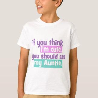 Camiseta Se você pensa Im bonito - Auntie