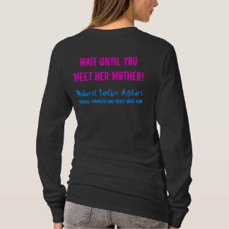 Camiseta Se você pensa minha filha é feroz…