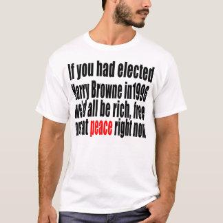 Camiseta Se você tinha elegido Harry Browne