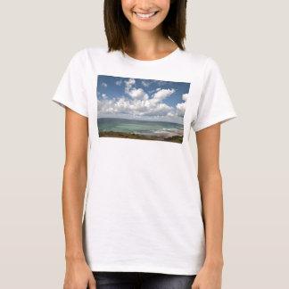 Camiseta Seascape da costa atlântica francesa