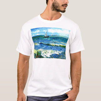 Camiseta Seascape em Saintes-Maries, Vincent van Gogh