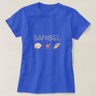 Camiseta Seashells de Florida da ilha de Sanibel