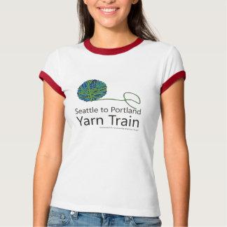 Camiseta Seattle ao t-shirt da campainha do trem do fio de